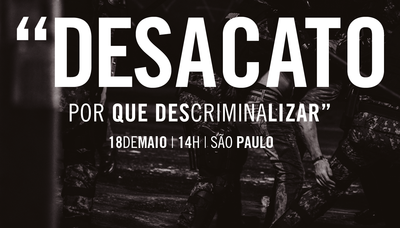 Evento na PRR3 debate a descriminalização do desacato